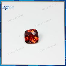 Amazing 8mm square checkerboard garnet rough diamond jewelry price buyers