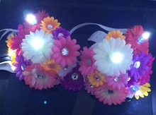 flower Sexy girl LED bra for performance , dance and party