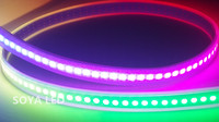 DC5V WS2812B flex rgb led digital strip 144 LEDs/m