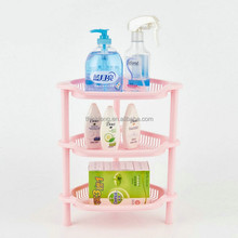 High Quality Mini PP Plastic 3 Layer Athroom Shampoo Rack