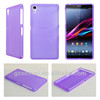 silicon skin for sony z2, TPU cellular phone cover for sony z2