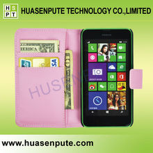 China Wholesale 4.5 Inch Phone Case for Nokia Lumia 630 Leather Case