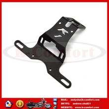 KCM626 BLACK FENDER ELIMINATOR LICENSE PLATE MOUNT HOLDER FOR 2004-2014 YAMAHA YZF R1