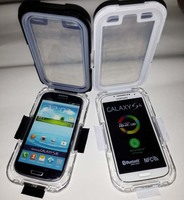 Professional Clear Crystal Diving Waterproof Case for Samsung Galaxy S4 i9500