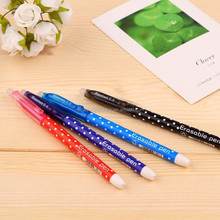new design logo customized colourful gel pen with eraser