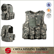 MOLLE system acu camouflage Military Tactical Vest with magazine pounches