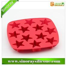 Wholesale diamond shape silicone ice cube tray