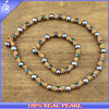 2015 Pearl Necklace Jewerly Natural Freshwater Pearl Set