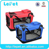 Best Seller foldable Custom Oxford airline approved pet carriers