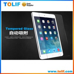 Alibaba wholesale custom LCD clear glass screen protector for apple ipad mini 1/2/3 tempered glass screen protector