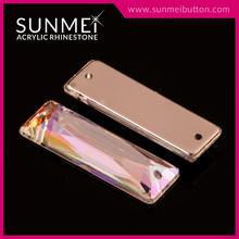 Wholesale Acrylic Plastic Crystal Baguette
