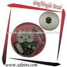 2014 la venta caliente insignia del fabricante pin