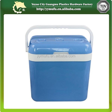 AC&DC electric mini car cooler box with handle