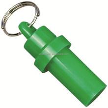 Bullet tube shaped plastic pet address pet ID tag