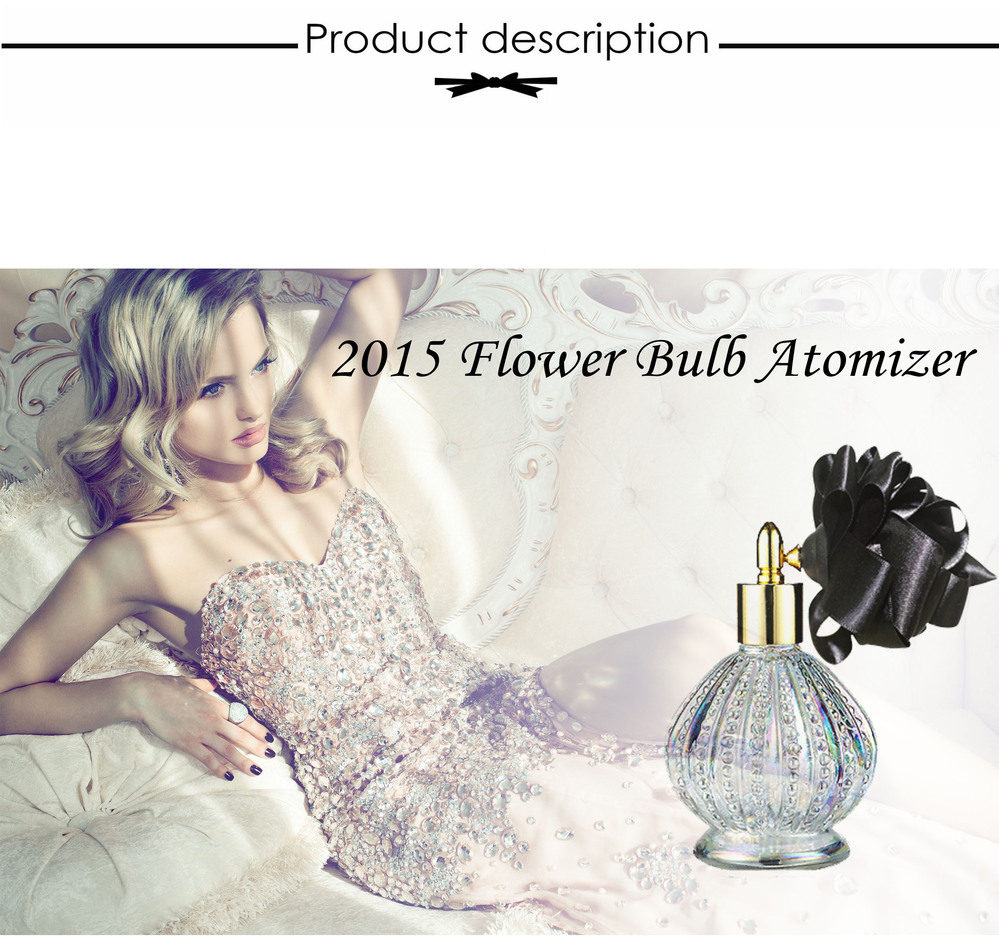 Vitorioso scent roxo flor original atomizador bulbo