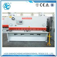 qc11y 12mm 2500mm aluminum iron shear machine specification