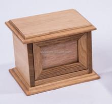 Luxury wooden pet/dog/cat cinerary casket