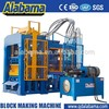with a super-strong motor CE/SGS/ISO9001 environmental production compressed concrete block brick machine for sale