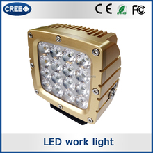High-end 80W heavy duty truck led tuning lights,uniqe 80W led driving light for offroad jeep
