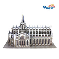3D puzzle famous buildings Duomo di Milano model cathedral