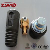 Trafimet Type Male & Female Welding Cable Connector DKJ35-70