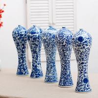 ceramic & porcelain vases,chinese porcelain vase,porcelain vase with dragon decor