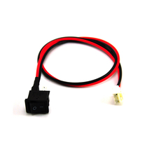 Custom supply 3.96-2Y housing terminal with button switch for LED application
