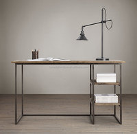 industrial metal desk/french style writing desk