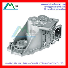 Precision customized aluminum die casting automobile parts, gearbox casing for auto parts