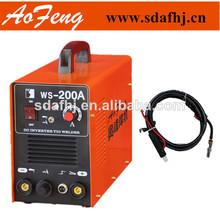 Calidad superior de inversor de la cc tig-200 soldador de soldadura de la máquina