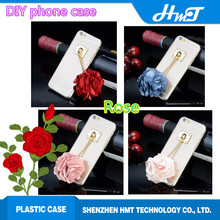rose style fashion phone case for iPhone 6,mobile phone case for iPhone 6