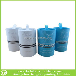 customize paper tube candle paper tube packaging