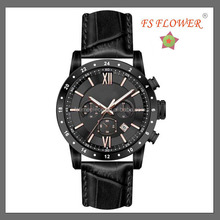 Western Design Of Genuine Leather Strap Miyota Os20 Movement Mens Sport Wches