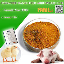 high protein corn DDGS 26% for cattle feed