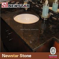 Antique brown granite solid color granite countertop