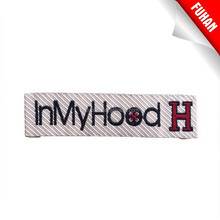 2015 Directly factory woven label for necktie