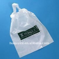 2013High Quality Style Drawstring Laundry and Valet Plastic Bag with Pringting EPI Biodegradable