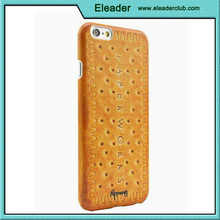 For iphone case 6 food design cookie meat