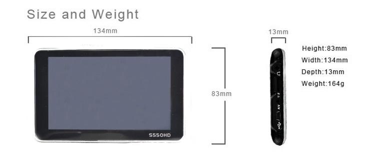 S550HD8