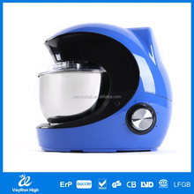 2015 new design High power professional mutifuction kitchen small stand mixer /dough blender /food processor for pizza