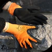 SRsafety 13 gauge industrial price latex rubber glove foam finish glove