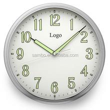Luminous Quartz Wall Clock