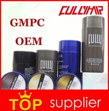2015 hot new products FULLY hair building fibers best hair thickener