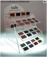 cosmetic accessories display acrylic makeup eyeshadow palette display