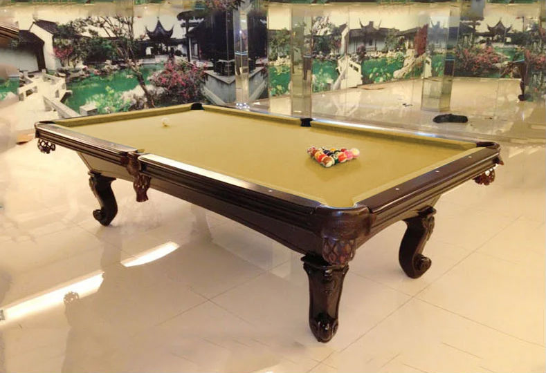 Luxury Apartments House Use Carved 7ft 8ft 9ft Billiard