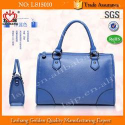 High Quality New Design Contrast Edge Painting Handbag/Tote Bag