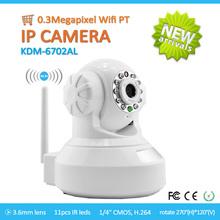 Factory price!! Wireless CMOS MJPEG IR Indoor P2P IP Camera for Home Security