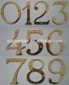 impermeable al aire libre de publicidad números de metal