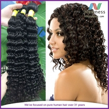 Wholesale Price Top Selling 6a Grade European Hair Deep Wave and Jerry Curly Hair Cuticle