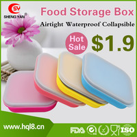 Large Outdoor Airtight Waterproof Collapsible Folding/Foldable Food Storage Box With Lid